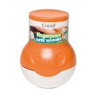 Creall Washable Finger Paint Orange, 500ml