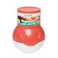 Creall Washable Finger Paint Red, 500ml