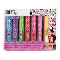 Create It Lip gloss Fragrance amp Glitter, 7pcs
