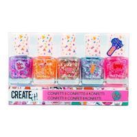 Create It Nail Polish Confetti, 5pcs