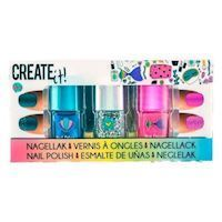 Create It Nail polish Glitter, 3 pieces