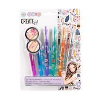 Create It Tattoo Gel pens, 6pcs