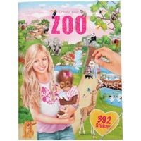Create your zoo stickerbook