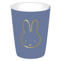 Cups Miffy Blue, 8pcs.