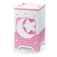 Dalber Table lamp LED Moonlight Glow in the Dark Pink