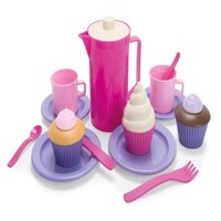 Dantoy - Coffee and Cupcake set, 20 pcs