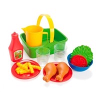 Dantoy - Picnic Chicken & salad set