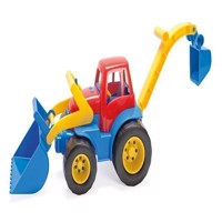 Dantoy - Tractor with Front Loader-excavator