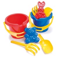 Dantoy  Bucket Set in Net 4 pcs 1429