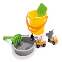 Dantoy  Bucket Set with 2 Vehicles in Net 1430