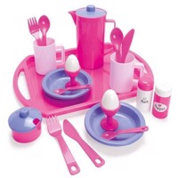 Dantoy  For My Little Princess  Breakfast Set on Tray