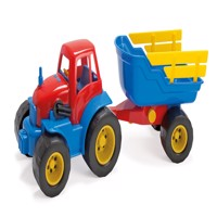 Dantoy  Tractor with trailer 2135