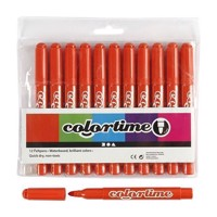 Dark orange Jumbo markers, 12pcs