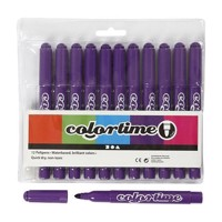 Dark purple Jumbo markers, 12pcs