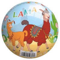 Decor ball Lama, 13 cm