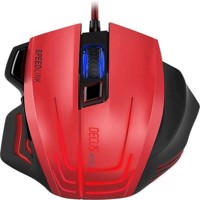 Decus Respec Gaming Mouse BlackRed
