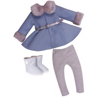 DesignaFriend - Dolls Clothing - Winter Wonderland outfit, 46 cm