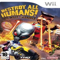 Destroy All Humans Big Willy Unleashed - Wii