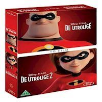 De utrolige 1 & 2 collection Blu-ray