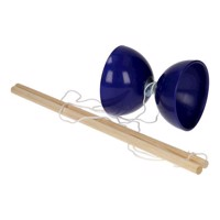 Diabolo with wooden sticks