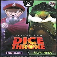 Dice Throne  Season 2  Tactician v Huntress Expansion ROX603