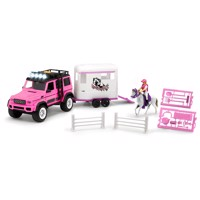 Dickie Playlife - Horse trailer Pink