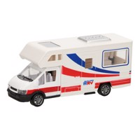 Die-cast Camper White