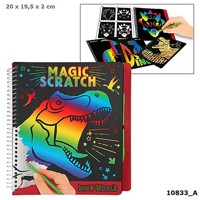 Dinoworld Magic Scratchbook