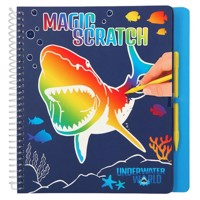 Dino World - Magic-Scratch Book - Underwater