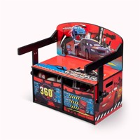 Disney cars 3in1 seat table and storage
