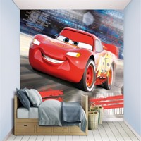 Disney Biler / Cars  tapet 243 x 305 cm
