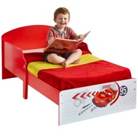 Disney cars wooden junior bed 140Cm