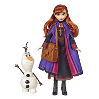 Disney frozen 2 fashion doll anna olaf