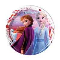 Disney Frozen 2 Plates 8Pcs