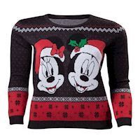 Disney Mick  Minnie Sweater XL
