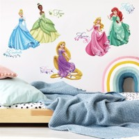 Disney Prinsesse Royal Wallstickers