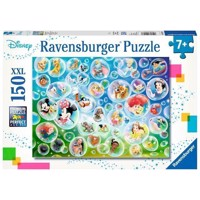 Disney Puzzle  Bubble blowing fun, 150st XXL