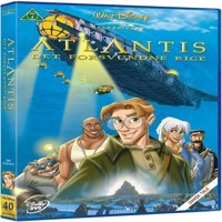 Disneys Atlantis  DVD