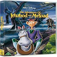 Disneys The Adventures Of Ichabod and Mr Toad  DVD
