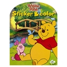 Disney sticker color winnie the pooh