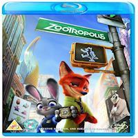 Disneys Zootropolis DVD