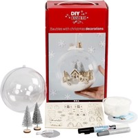 DIY - Kit for Bauble with inner Decoration