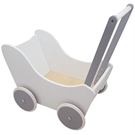 Doll carriage White  Silver