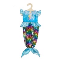 Doll dress Mermaid with Sequins, 28-35 cm