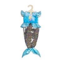 Doll dress Mermaid with Sequins, 35-45 cm