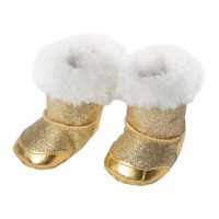Doll shoes Gold, 30-34 cm
