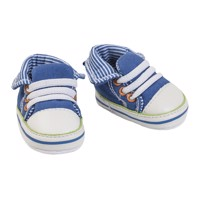 Doll Shoes Sneakers Blue, 38-45 cm