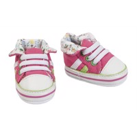 Doll Shoes Sneakers Pink, 38-45 cm