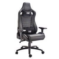 DON ONE  Gambino Gaming Chair BlackCarbonWhite stiches