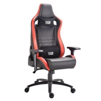 DON ONE  Gambino Gaming Chair Sort/Rød